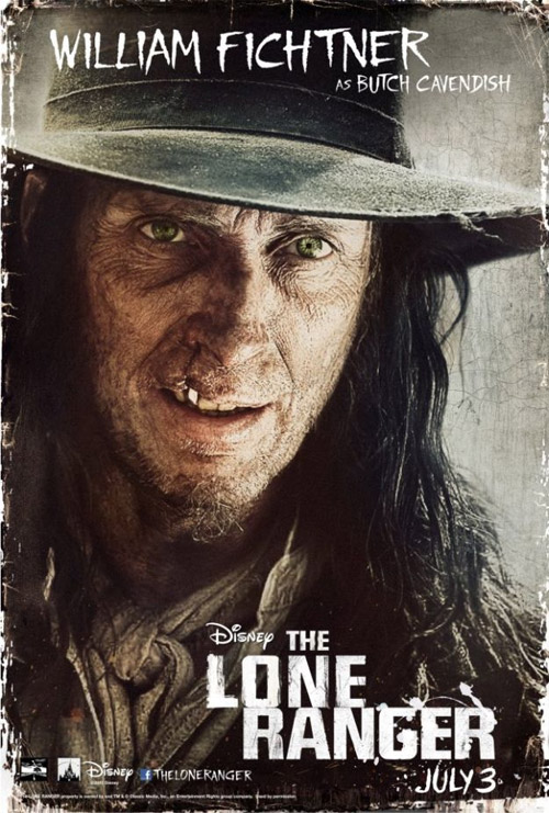Al fin el villano de El Llanero Solitario, este es William Fichtner como Butch Cavendish
