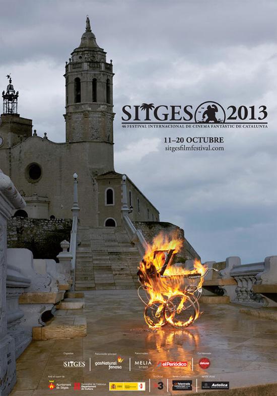 Cartel de la 46 edición del Sitges – Festival Internacional de Cinema Fantástic de Catalunya