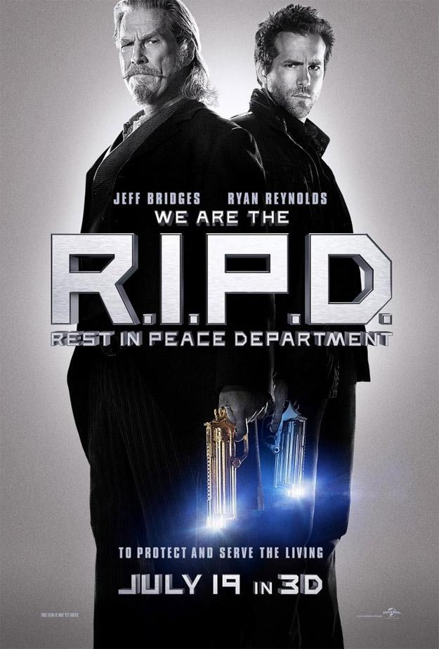 El primer cartel de R.I.P.D.