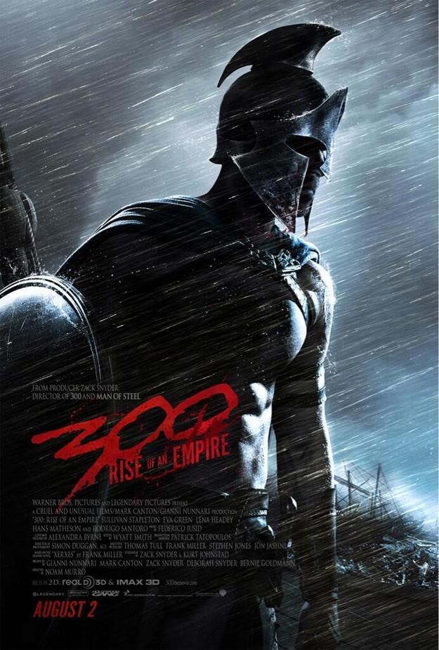 El primer cartel de 300: el origen de un imperio con la fecha mal puesta