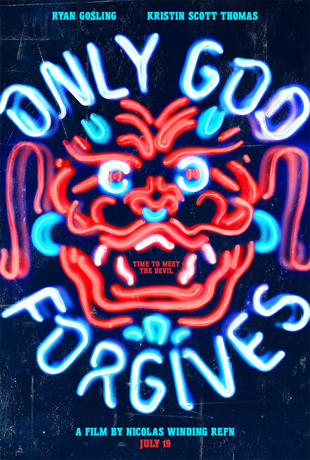 Un nuevo mágico cartel de Only God Forgives