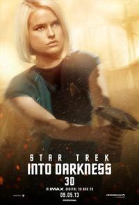 Cartel de Star Trek: en la oscuridad