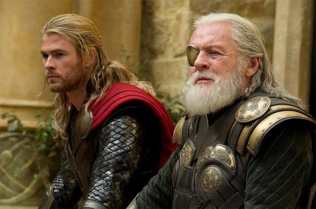Una nueva imagen de Thor: el mundo oscuro nos muestra a padre e hijo
