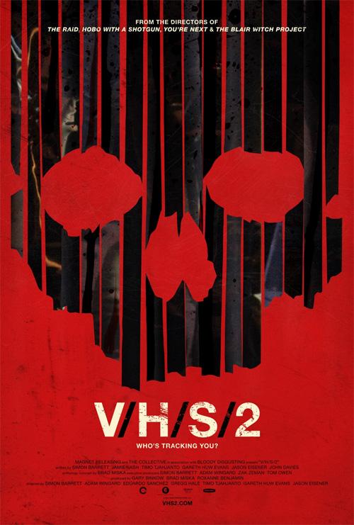 Interesante nuevo cartel de V/H/S 2