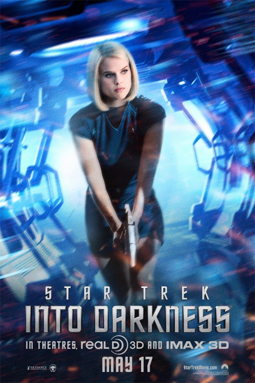 Un cartel más de Star Trek: en la oscuridad con Carol Marcus como prota