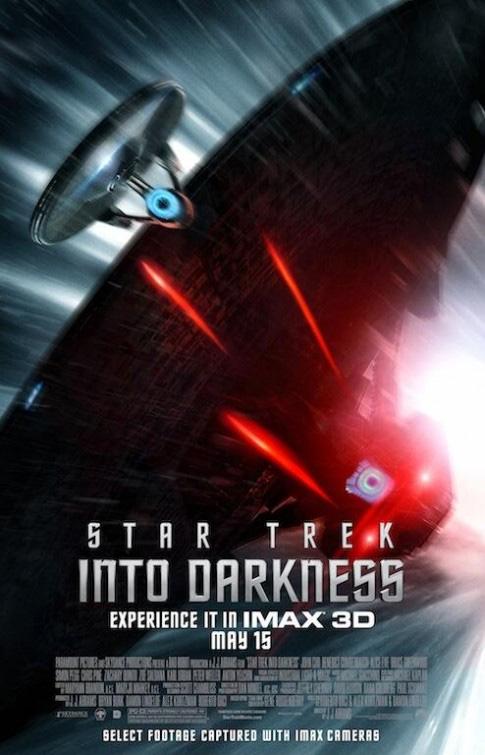 Y otro molón cartel de Star Trek: en la oscuridad para las salas IMAX