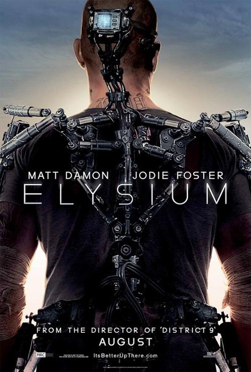 El primer cartel de Elysium