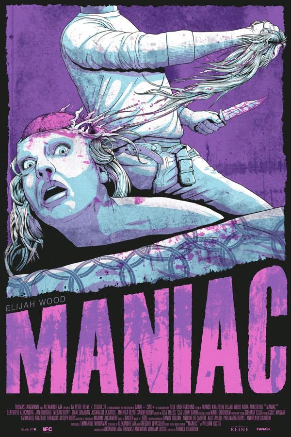 Brutal cartel de Maniac en formato Mondo