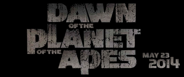El logo de Dawn of the Planet of the Apes