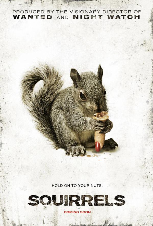 El primer póster de esa paranoia que promete ser Squirrels!