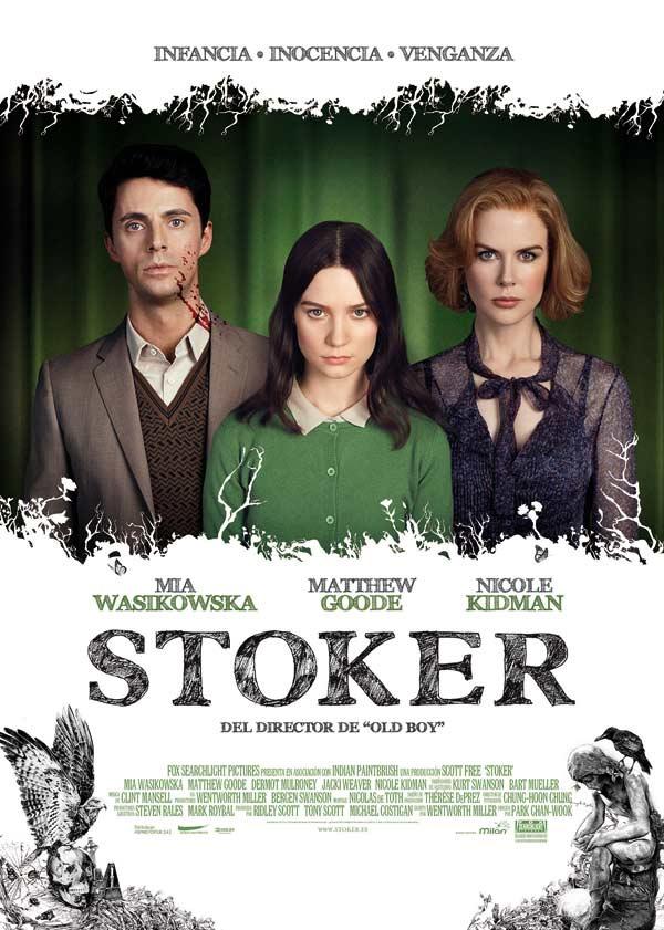 Cartel español de Stoker