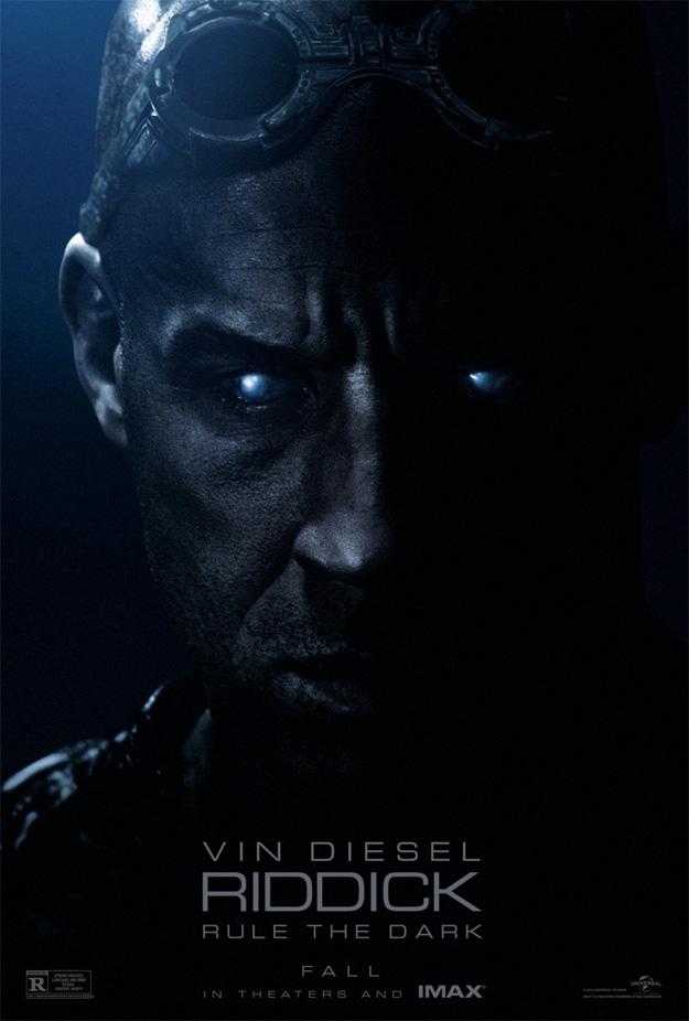 Un cartel de Riddick