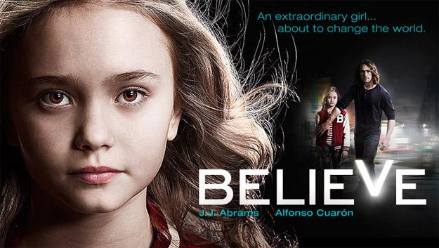 """Banner presentación de """"Believe"""""""