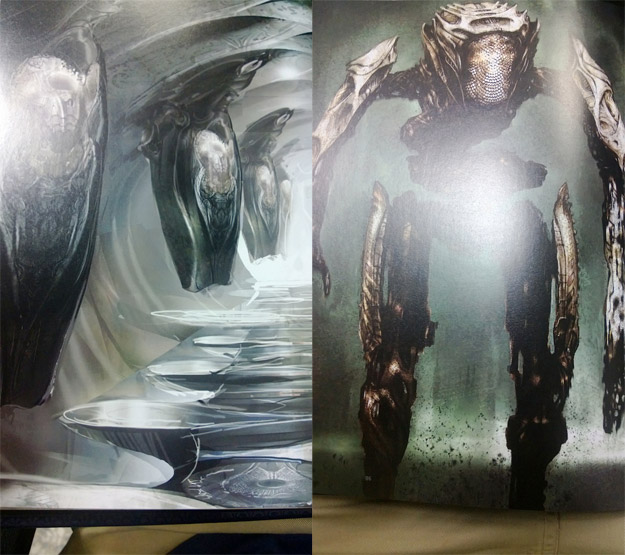 Detalle concept art de El Hombre de Acero