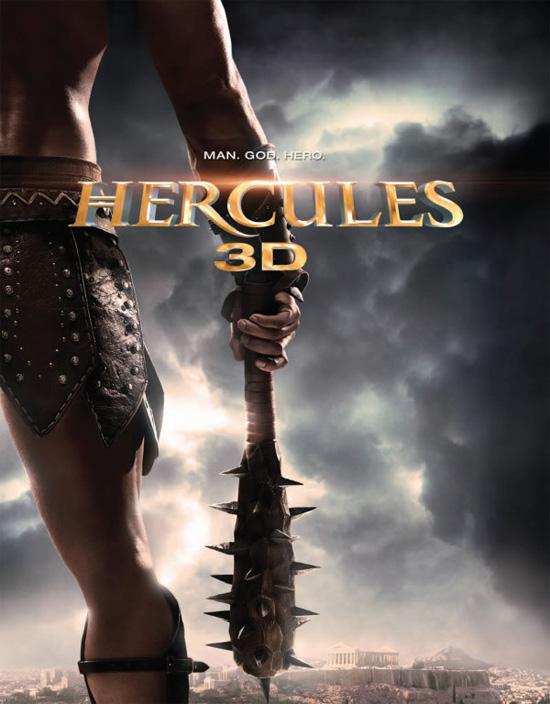 El único cartel que tenemos hasta ahora de Hercules: The Legend Begins