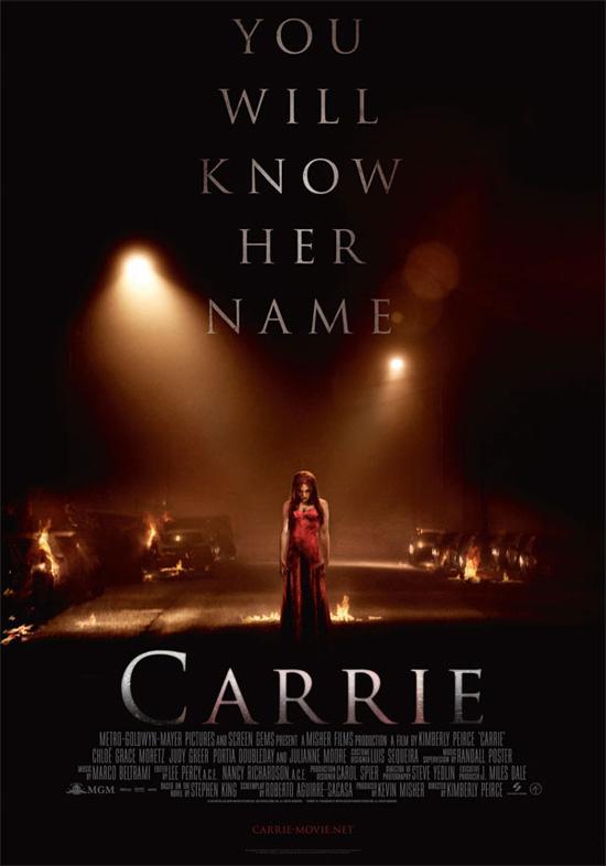 Un cartel internacional de Carrie