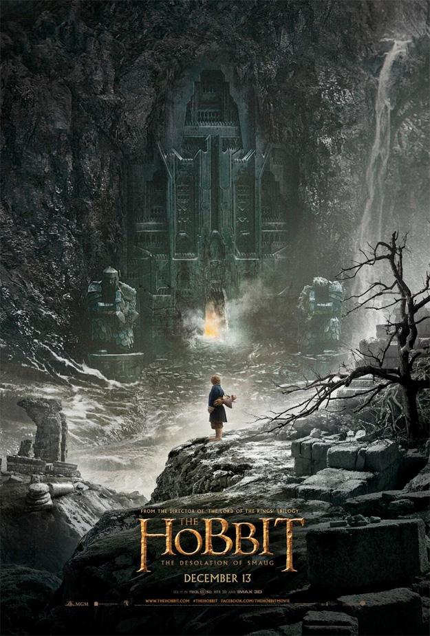 El primer cartel de El Hobbit: La Desolación de Smaug