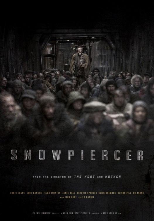 Uno de los carteles de Snowpiercer