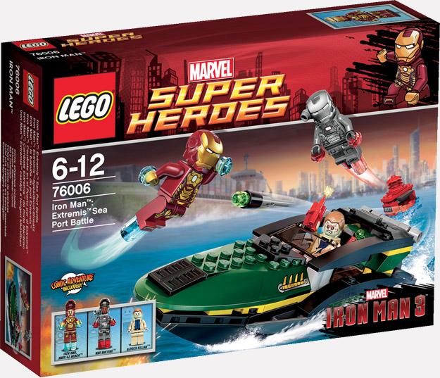 Uno de los pack de LEGO para Iron Man 3