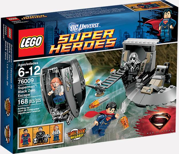 Uno de los pack de LEGO para El Hombre de Acero