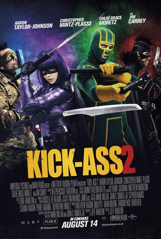 Un nuevo cartel de Kick-Ass 2, se ha perdido eso de Balls to the Wall