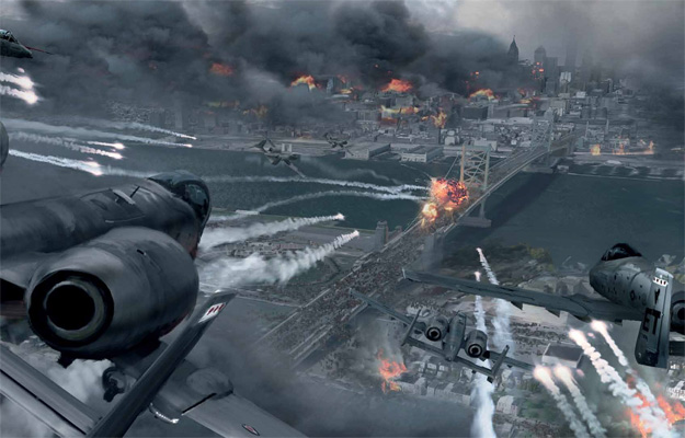 Concept art de Guerra Mundial Z
