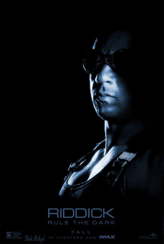Nuevo cartel IMAX de Riddick