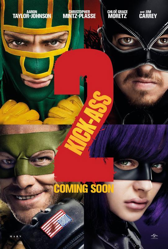 Un nuevo cartel de Kick-Ass 2: Balls to the Wall