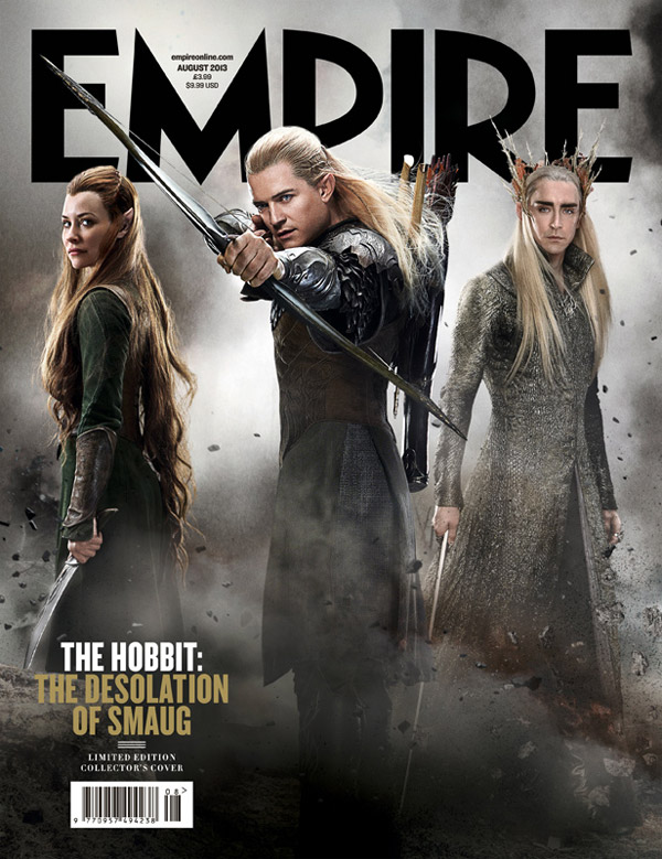 Portada exclusiva de Empire para El Hobbit: La Desolación de Smaug