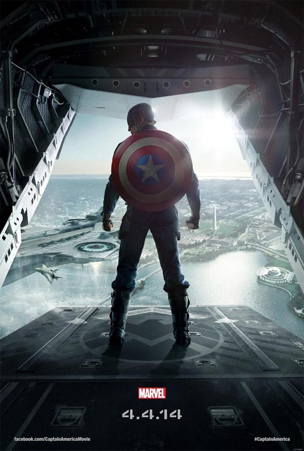 El nuevo cartel de Capitán América: el Soldado de Invierno