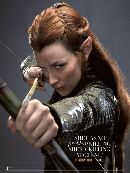 Evangeline Lily como Tauriel