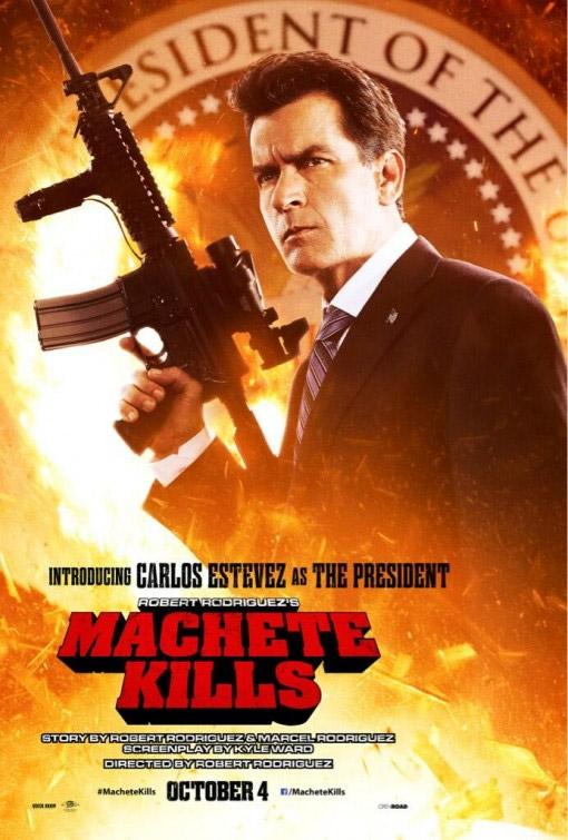El nuevo cartel de Machete Kills nos presente al Presidente