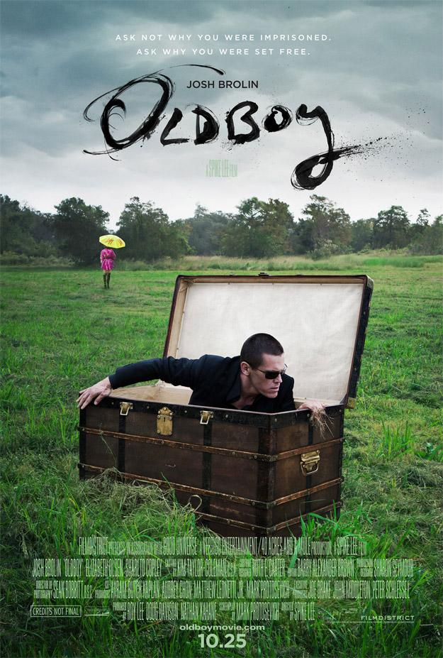 El nuevo cartel oficial de Oldboy de Spike Lee