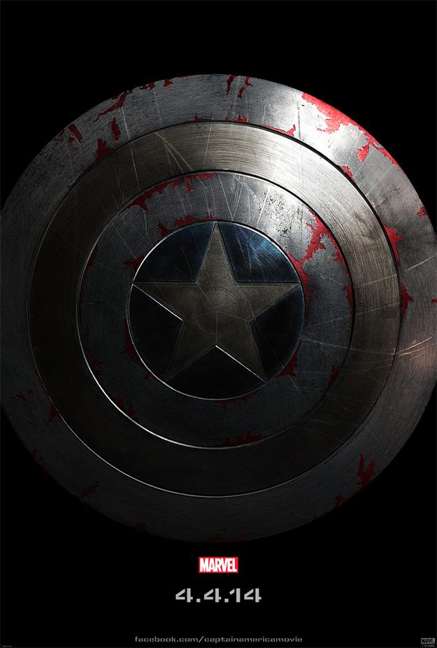 El primer cartel de Capitán América: el Soldado de Invierno