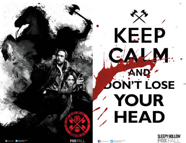 """Los dos primeros carteles para la Comic-Con de """"Sleepy Hollow"""""""