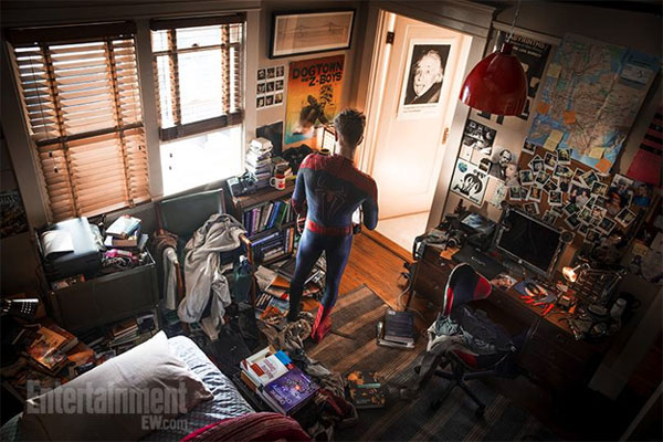 Peter Parker y el cuarto desordenado de un genio, o de un héroe de cómic