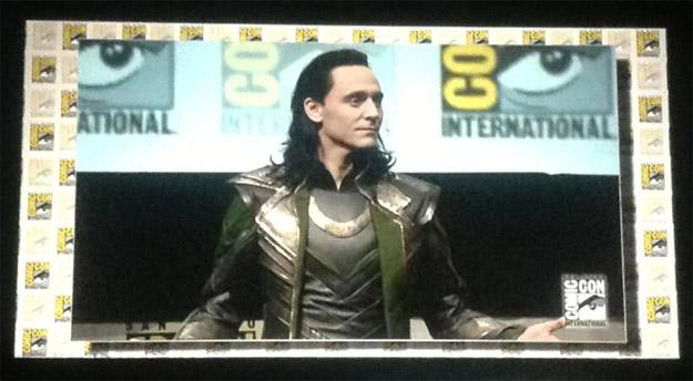 El mismísimo Loki fue el encargado de presentar el metraje de Thor: el mundo oscuro
