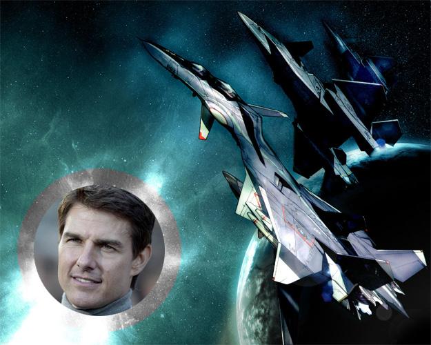 Tom Cruise, piloto del Yukikaze ya!
