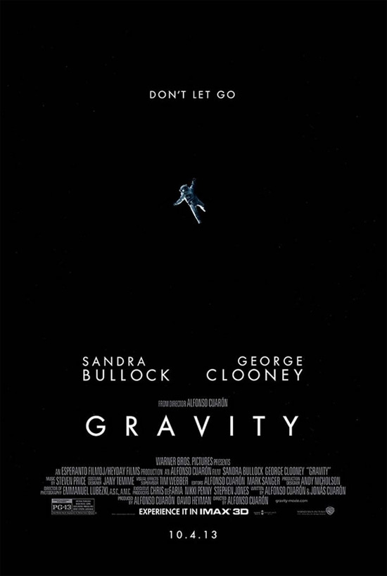 Póster IMAX de Gravity... siniestro