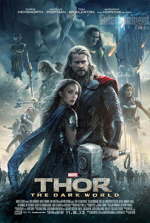 El nuevo cartel de Thor: el mundo oscuro