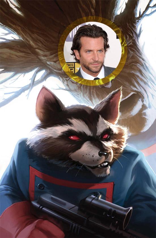 Bradley Cooper será si nada se tuerce Mapache Cohete