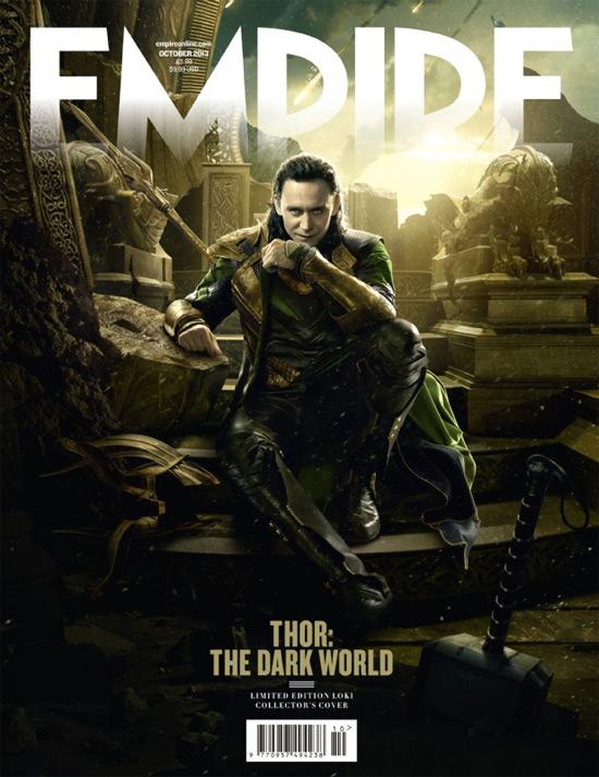 Por otro lado Loki muestra su rostro más perverso con Mjolnir a sus pies