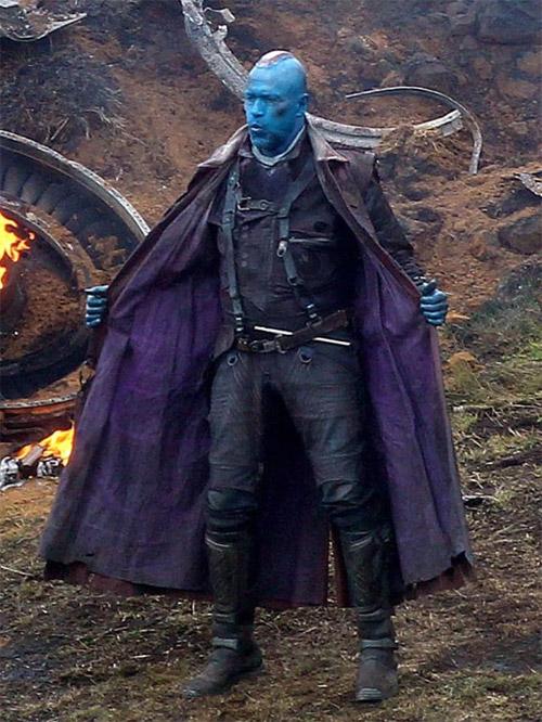Un vistazo bastante notable de Michael Rooker como Yondu