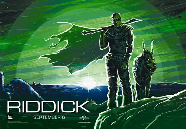 Un nuevo cartel IMAX de Riddick