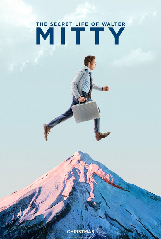 Un cartel de The Secret Life of Walter Mitty