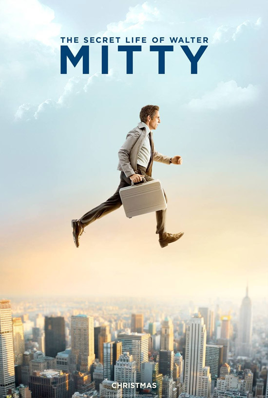 Dos carteles de The Secret Life of Walter Mitty