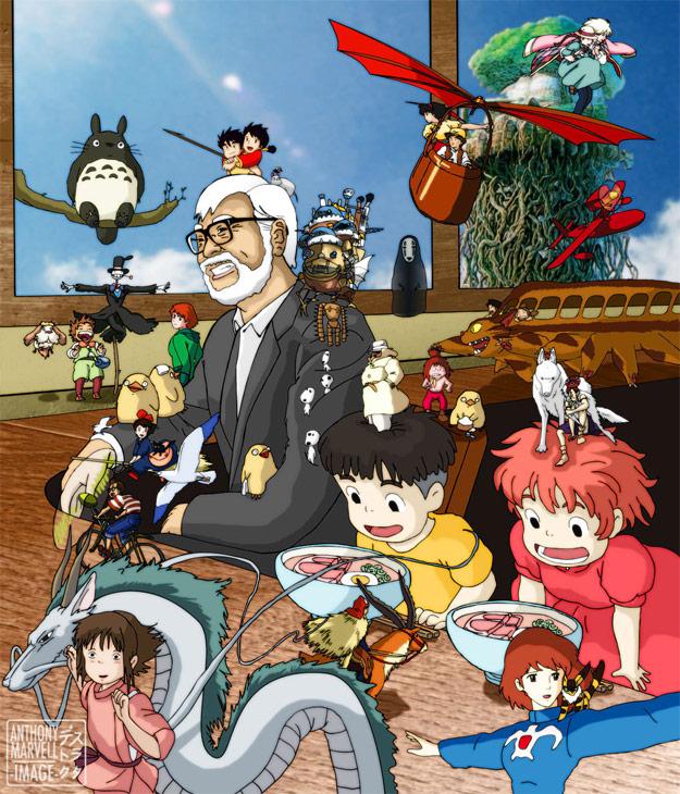 La despedida de Hayao Miyazaki
