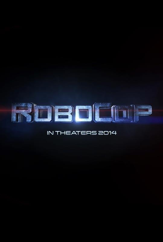 Teaser cartel de RoboCop... más simple imposible