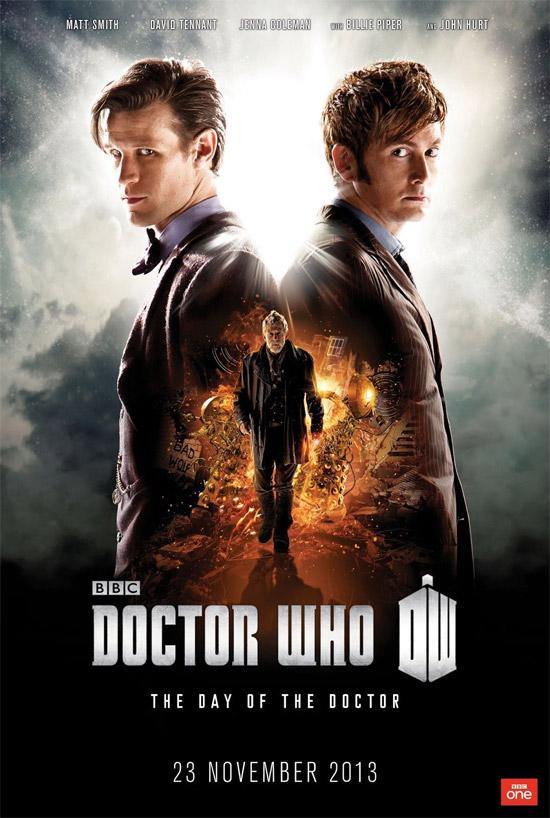 """El cartel de los 50 años de """"Doctor Who"""""""