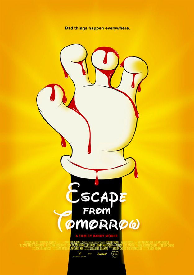 Este cartel de Escape from Tomorrow es oro puro